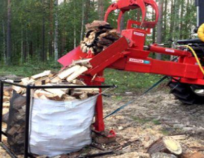 Fendeuse à bois haute-capacité Naarva H60