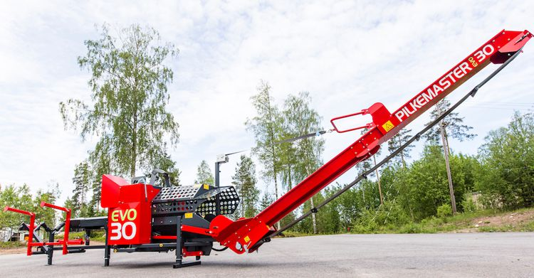 Pilkemaster EVO30 avec lève-bois