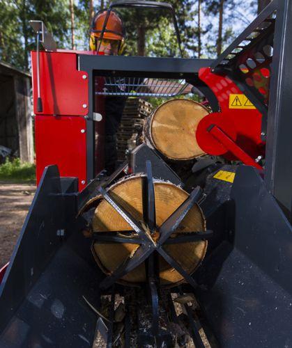 Combiné à bois de chauffage Pilkemaster EVO36 HC avec coin de fendage 2/8