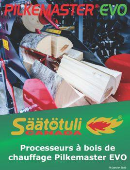 Télécharger la brochure du processeur à bois Pilkemaster EVO